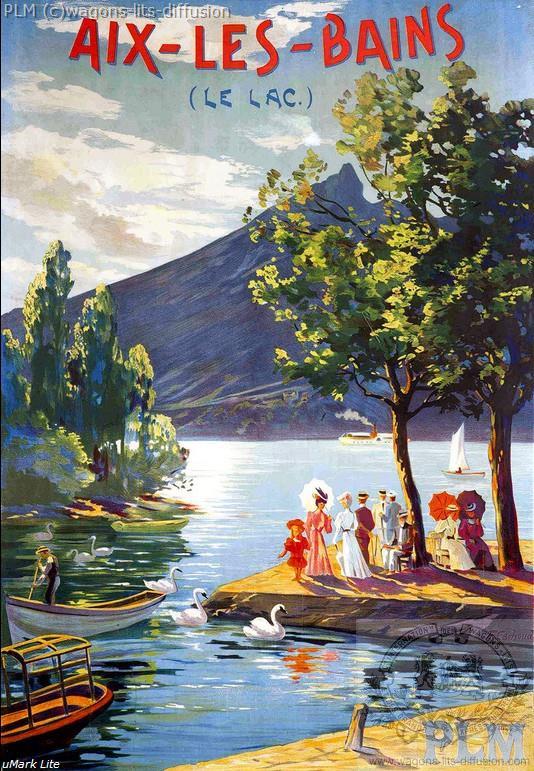 PLM Aix les bains lac (ref N° 18