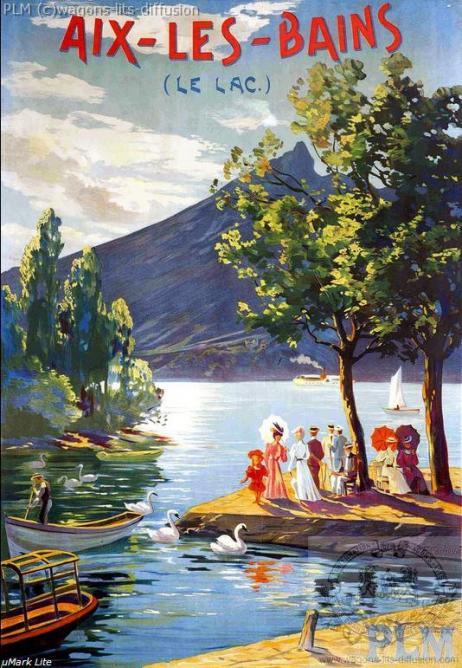 PLM Aix les bains lac