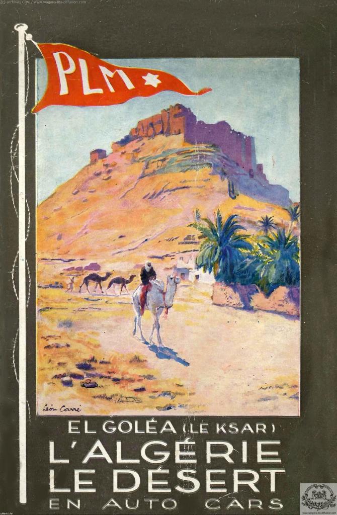 PLM Algérie Désert 1930