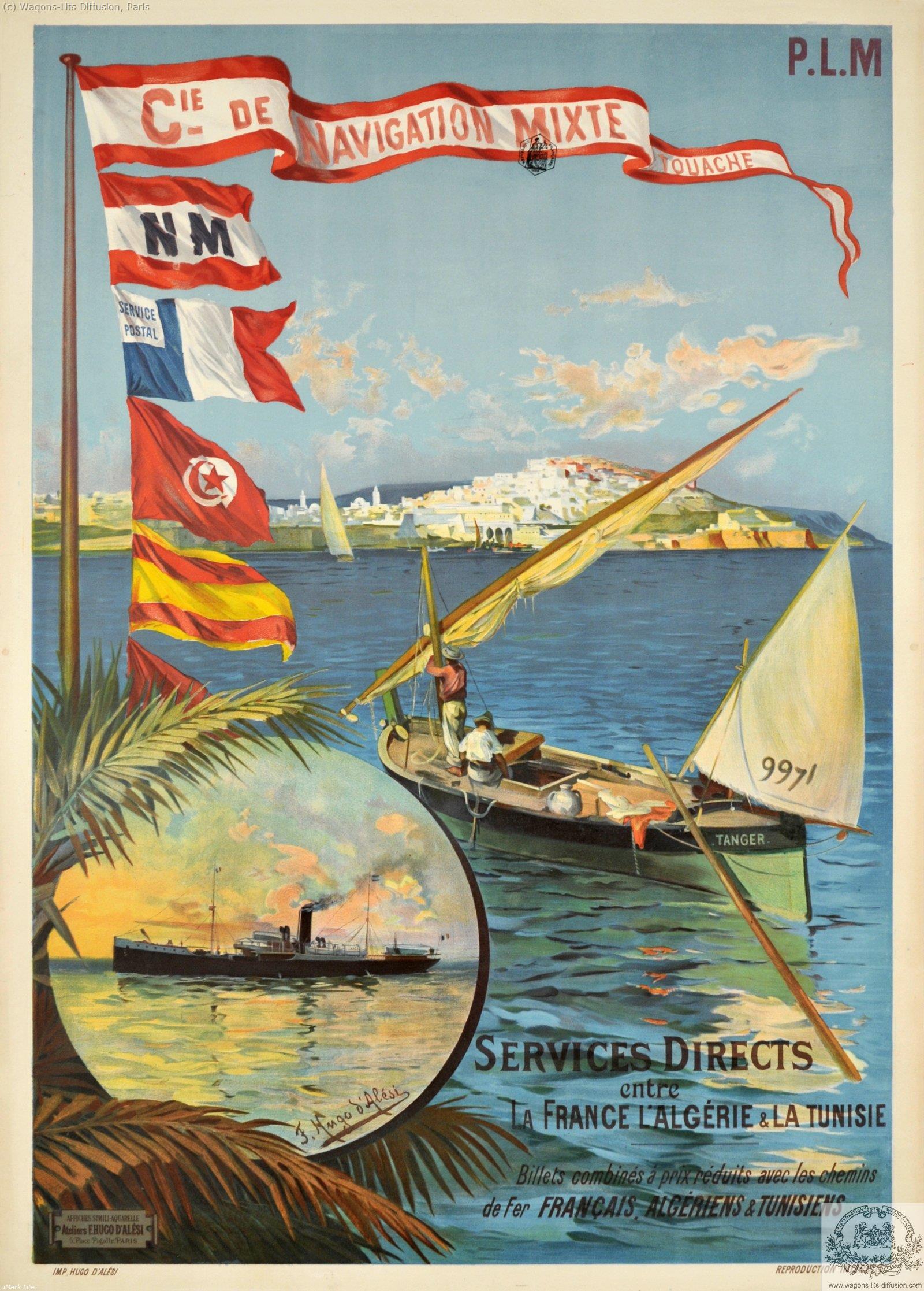 PLM Algérie tunisie Navigation mixte  Ref 1039