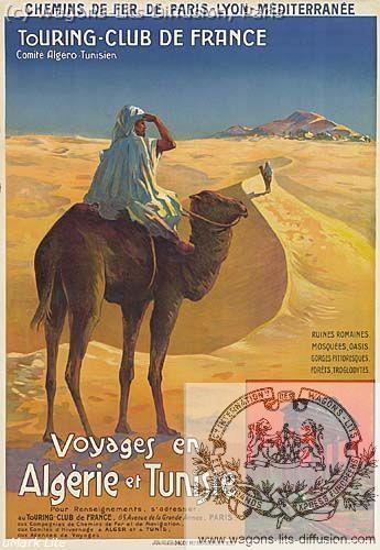 PLM Algerie Tunisie Touring Ref 1033