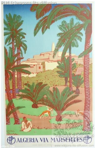 PLM Algerie via marseille ( Ref N° 46