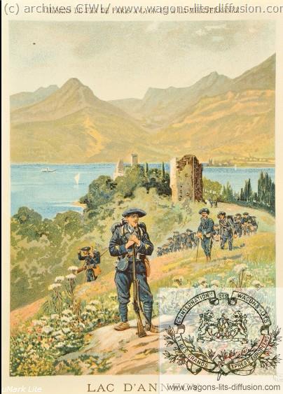 PLM Annecy Lac troupes
