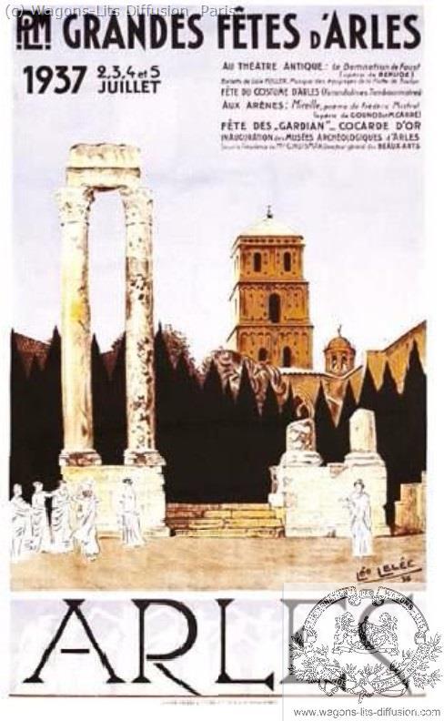 PLM Arles 1937 Ref 973
