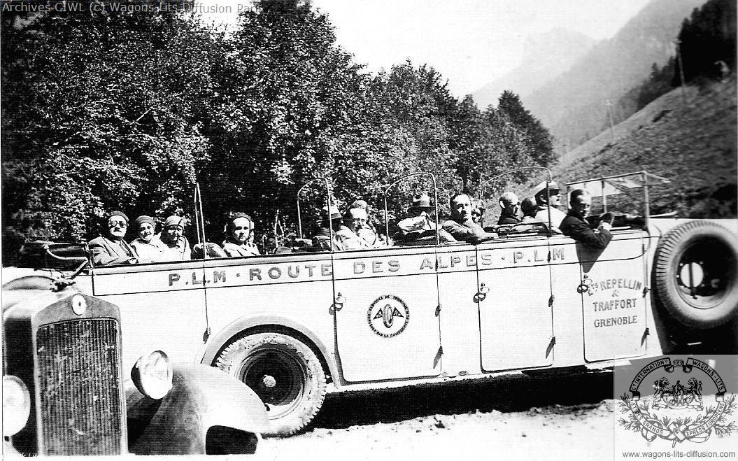 Plm autocar route des alpes