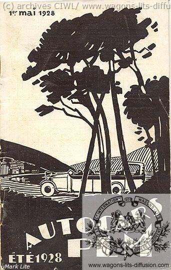 PLM autocars Eté 1928