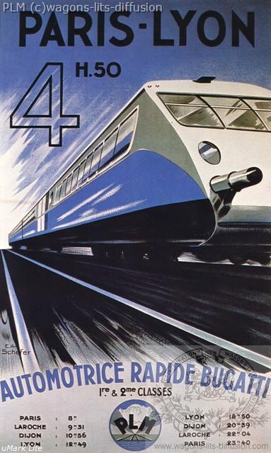 PLM automotrice Bugatti ( Ref N° 96
