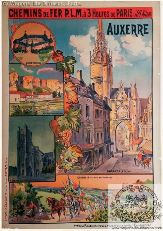PLM Auxerre 3 heures de Paris Ref 1025