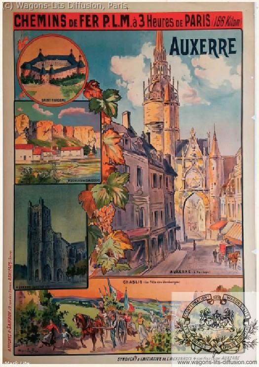 PLM Auxerre 3 heures de Paris  (ref N° 1025)