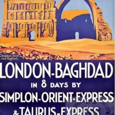PLM bagdad ORIENT EXPRESS ( Ref N° 108