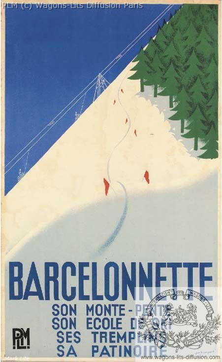 PLM Barcelonnette  (ref N° 116)