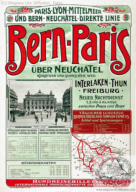 PLM Bern – Paris Ref 1089