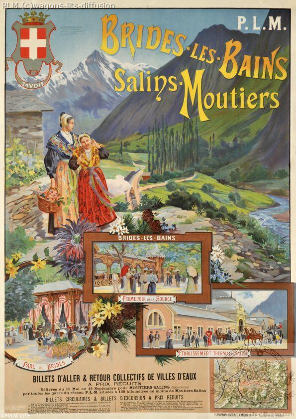 PLM Brides-les-bains_Salins-Moutiers ( Ref N° 143