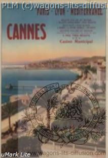 PLM Cannes Casino municipal ( Ref N° 157