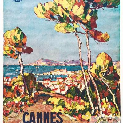 PLM Cannes vue de (Ref N° 161
