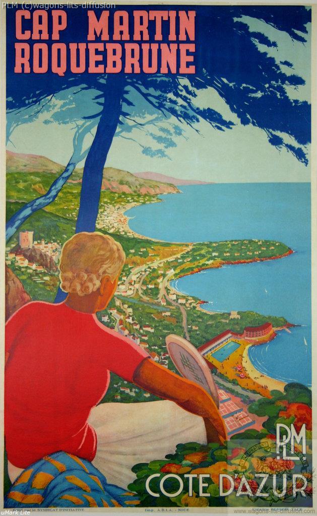 PLM Cap Martin Roquebrune ( Ref N° 169