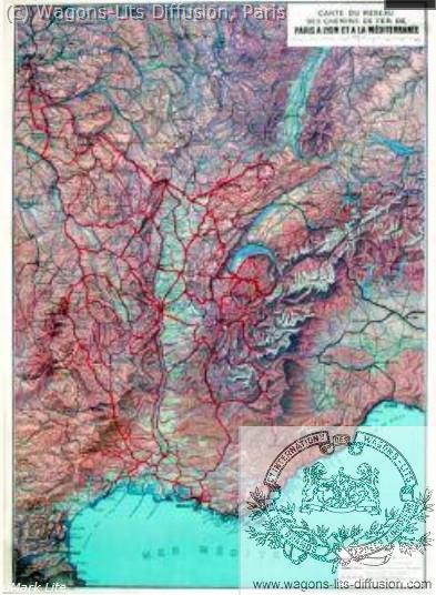 PLM Carte du réseau Ref 974