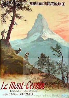 PLM CERVIN suisse (2) ( Ref N° 172