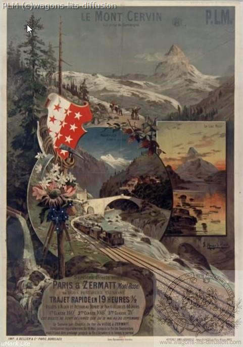 PLM Cervin Suisse ( Ref N° 175