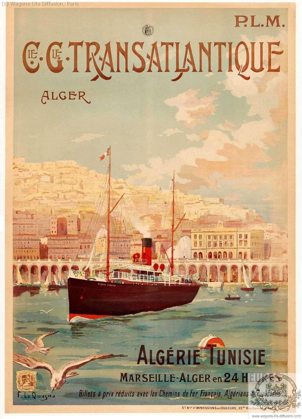 PLM CGT Algerie Tunisie 2 Ref 997