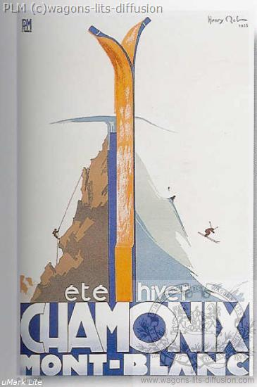 PLM Chamonix Ete hiver ( Ref N° 180