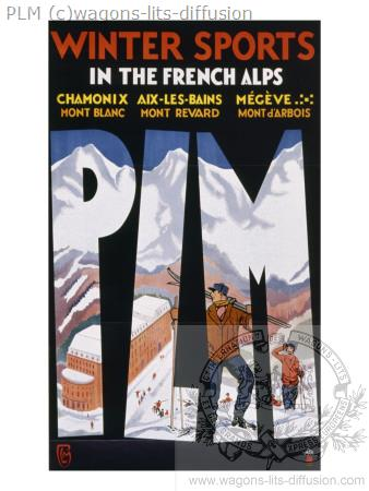 PLM chamonix megeve winter-sports alpes ( Ref N° 183