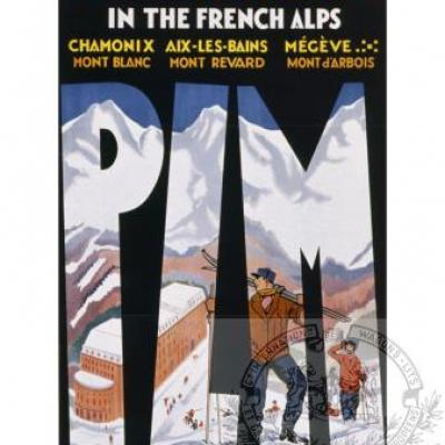 PLM chamonix megeve winter-sports alpes ( Ref N° 183