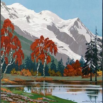 PLM Chamonix Mont blanc 3 (Ref N° 185
