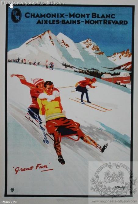 PLM Chamonix Mont Blanc Aix les bains Revard