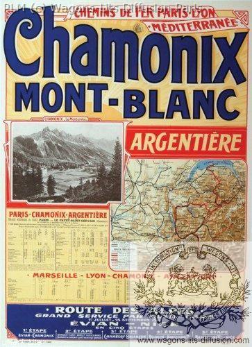 PLM Chamonix Mont Blanc Argentiere (Ref N° 189