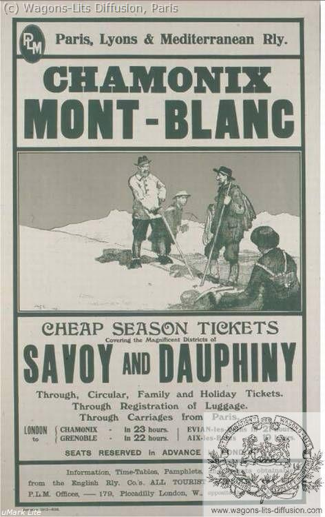 PLM Chamonix Mont Blanc Pub  Ref 1032