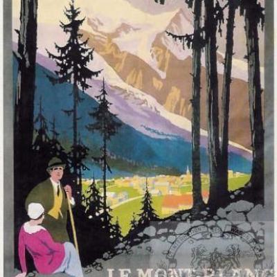 PLM Chamonix mont Blanc ( Ref N° 191