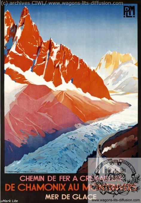 PLM Chamonix Montenvers (3)  (ref N° 900)