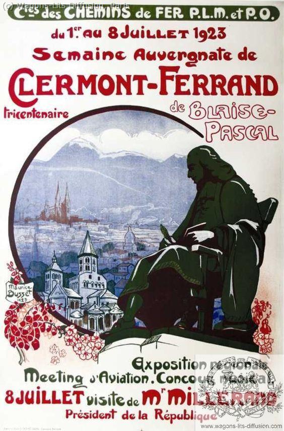 PLM Clermont Blaise Pascal Ref 1028