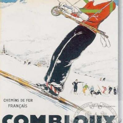 PLM Combloux teleski ( Ref N° 231