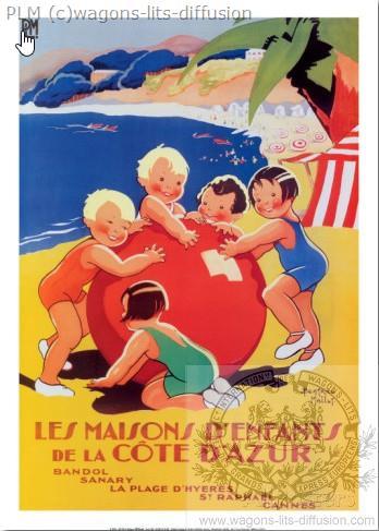 PLM Cote Azur Maisons d'enfants (Ref N° 277