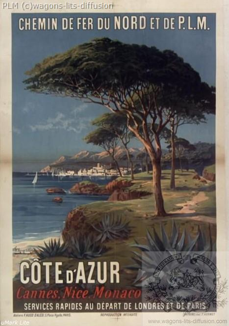 PLM COTE AZUR PINS (REF N° 259