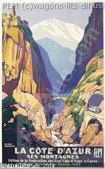 PLM Cote Azur ses Montagnes (Ref N° 260