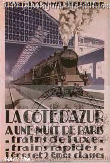 PLM COTE D'AZUR TRAIN