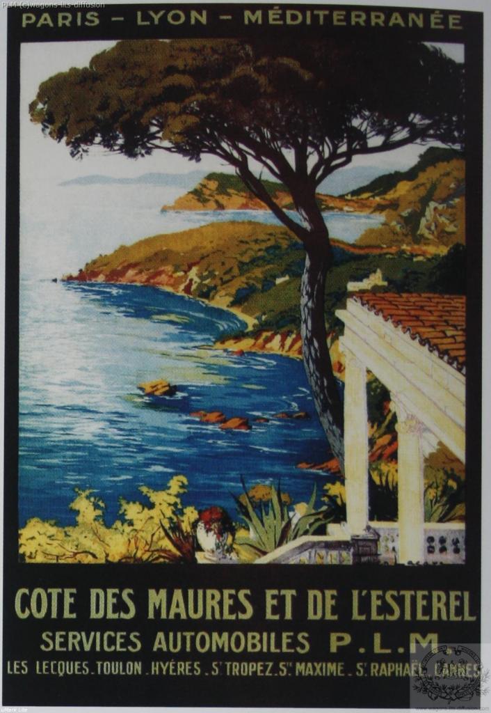 PLM Cote des Maures et Esterel