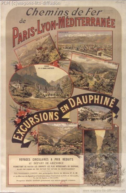 PLM Dauphiné (2)  (Ref N° 295