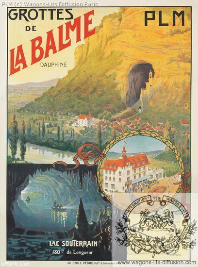PLM Dauphiné Grottes de la Balme  (ref N° 302