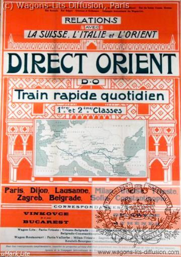 PLM Direct Orient (CIWL) Ref 1087