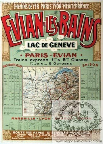 PLM Evian les bains Genève Ref N° 324