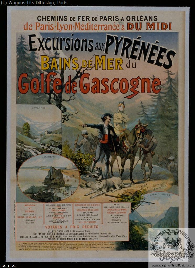 PLM Excursion Pyrénées Gascogne Ref 998