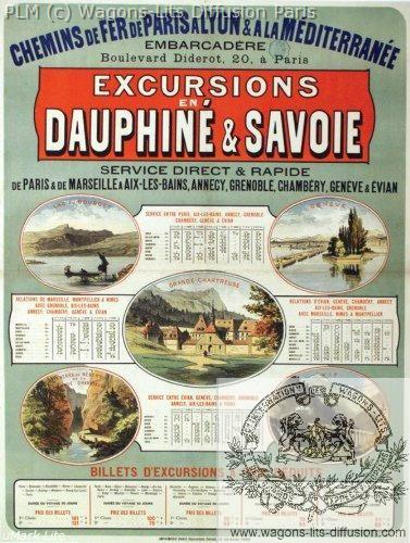 PLM Excursions Dauphiné Savoie (Ref N° 334