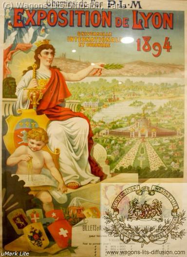 PLM Exposition de Lyon Ref 1072