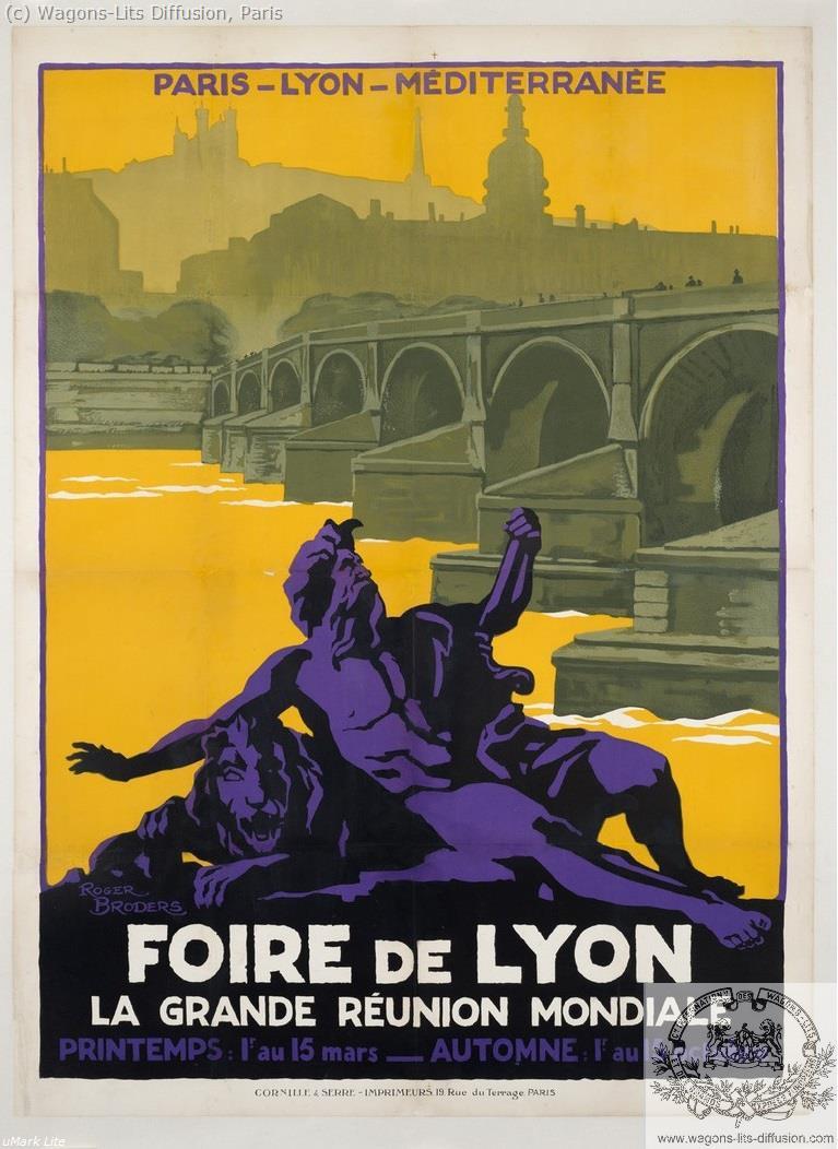 PLM Foire de Lyon Ref 960
