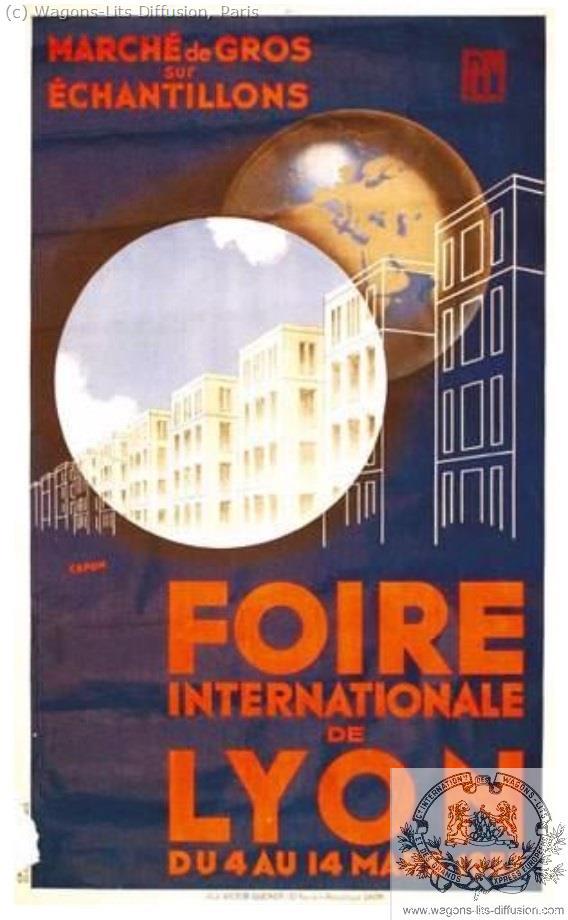 PLM Foire Internationale de Lyon Ref 976