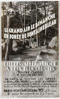 PLM Fontainebleau excursions
